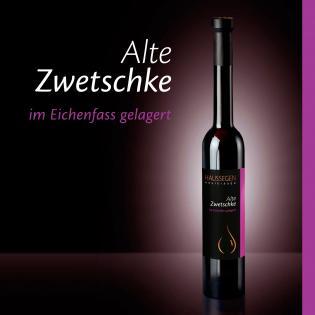 Haussegen Alte Zwetschke 42% vol. 0,35l
