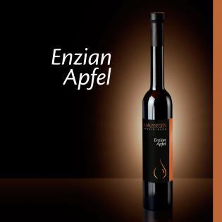 Haussegen Enzian auf Apfelbrand 43% vol. 0,35l