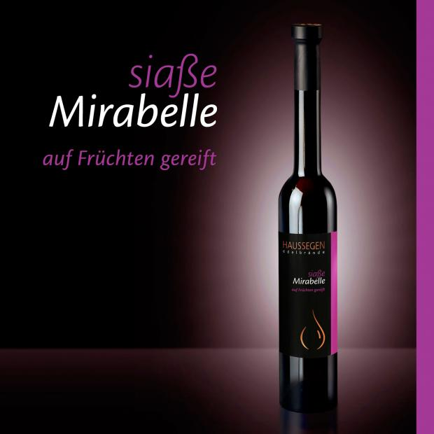 Haussegen siaße Mirabelle 35% vol. 0,35l