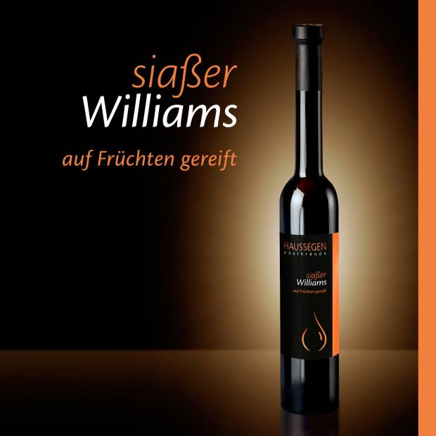 Haussegen siaßer Williams 35% vol. 0,35l